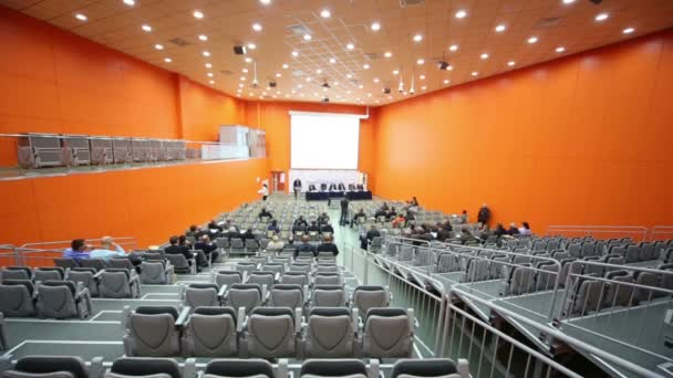 Audience rows at Second Eurasian Congress