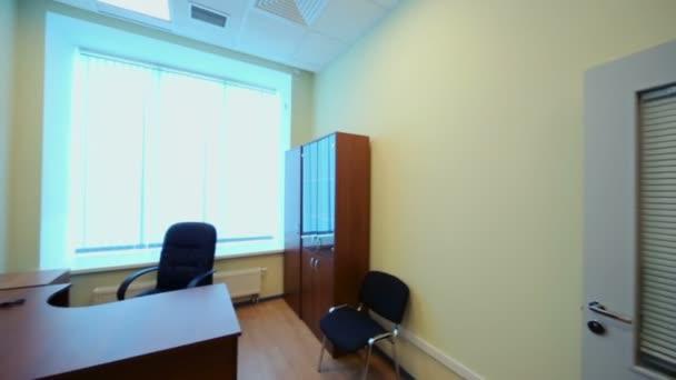 Interior of small empty office