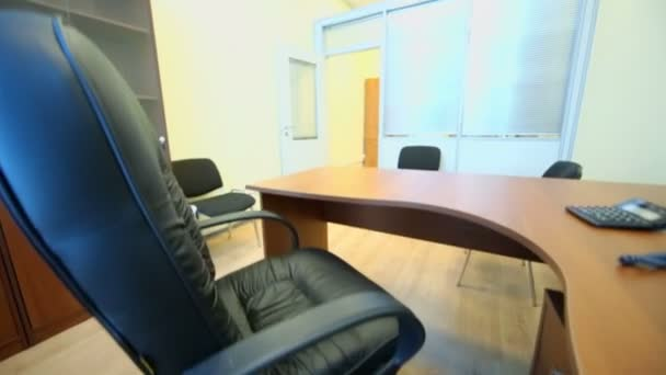 Interior of small empty office room