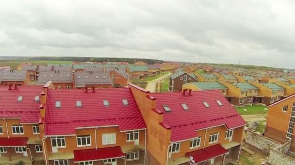 Panorama z malého města