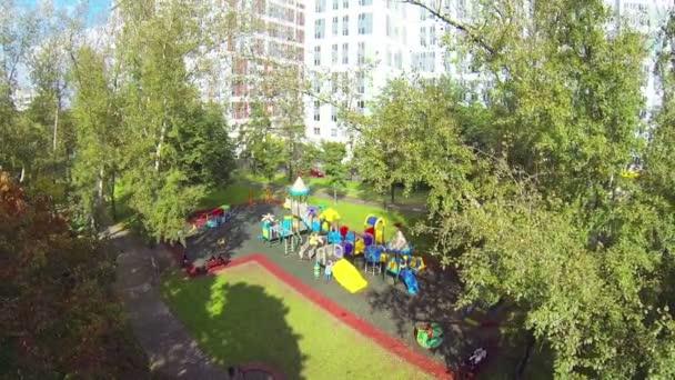 Playground above view