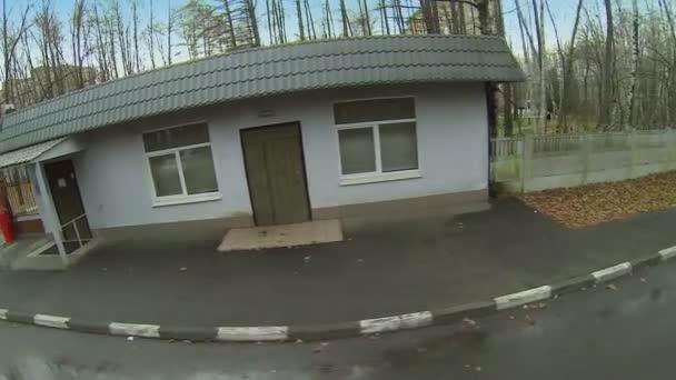 Small edifice of control post