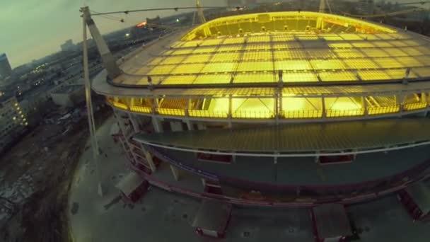 Fotbalový stadion a městské dopravy