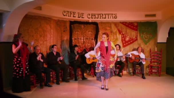 Žena v stylu flamenca