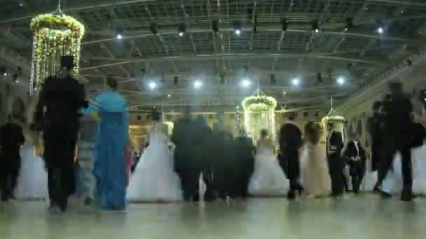 Couples on dance floor dancing at Vensky ball