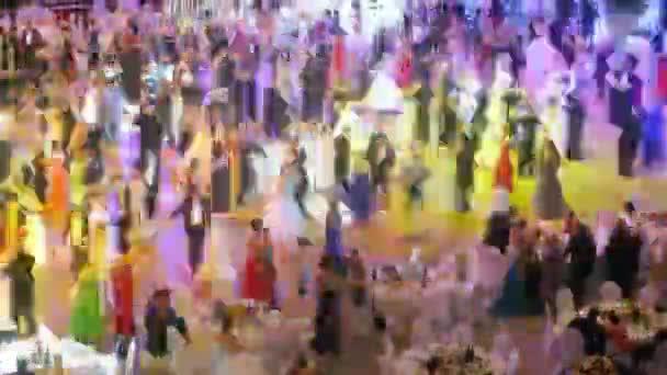 Couples dancing at Vensky ball