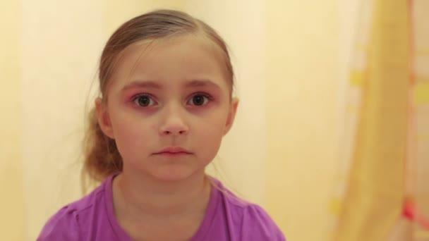 Krásná holčička s velkýma očima