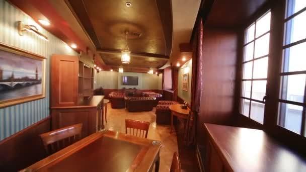 Luxurious cigar room