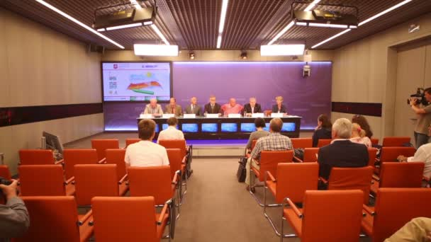 Press Conference on International Tennis Championships