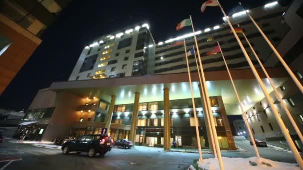 vnější pohled na borodino hotel
