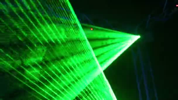 Moderne Lampen 55 : Moderne laser lampe auf ausstellung u stockvideo paha l