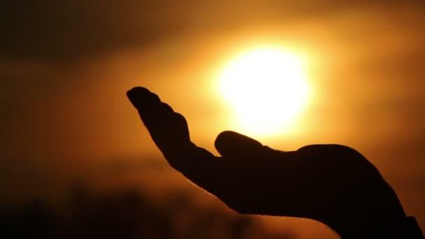 kezében sárga nap