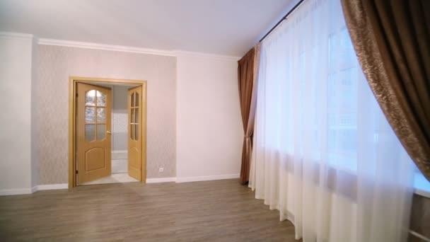Empty light room in new apartment