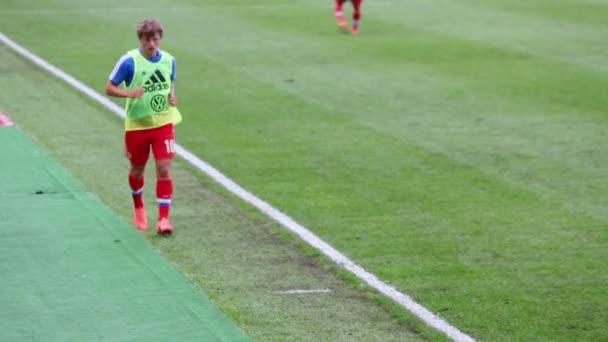 Andrei Arshavin run on match at Stadium