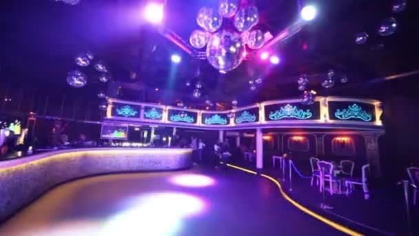 People at night club Base