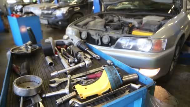 tools for car repair and car