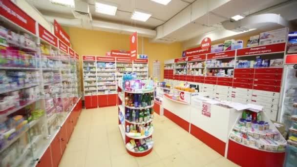 Lékárna v supermarketu domácího jídla Bahetle.