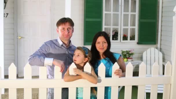 Rodinné stojan vedle chaty