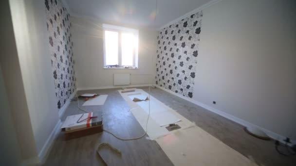Dokončení opravy v novém bytě