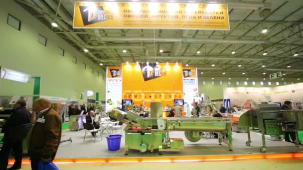 Stands of companies at AgroProdMash
