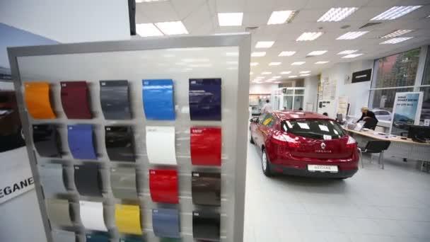 New red car Renault Megane