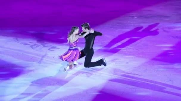 Pair figure skates