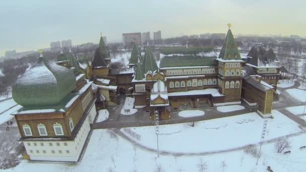 dřevěný palác v Tverská ulice