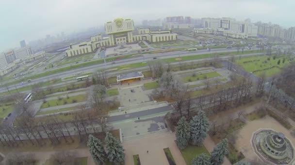 nedaleko Moskevské státní univerzity