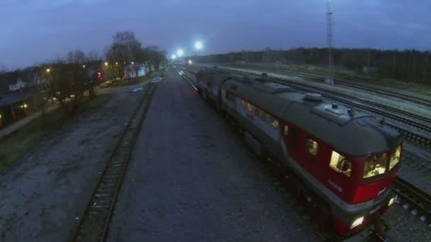 Motorový vlak společnosti RŽD