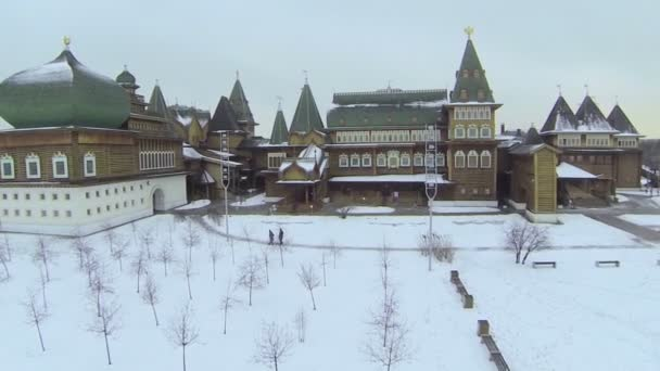 Reconstructed wooden palace of XVII century