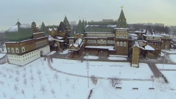 Complex of reconstructed wooden palace