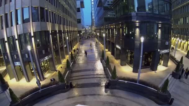 Depositphotos People Walk Near Office Centre U2014 Stock Video
