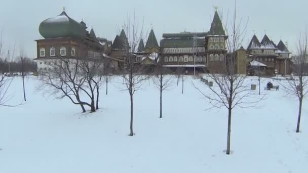 Wooden palace reconstructed building