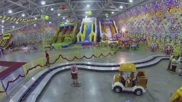 childish amusements in Crocus City hall