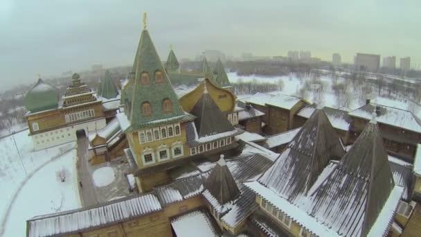 Complex of wooden palace in Kolomenskoye