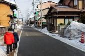 Fotografia Ragazzi della città di Takayama