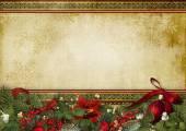 Fotografie Vintage Weihnachten Hintergrund