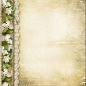 Fotografie Vintage floral background