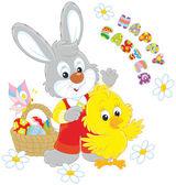 Velikonoční zajíček a buchta