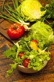 salát z čerstvé zeleniny