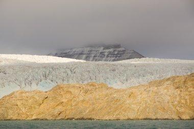 Svalbard. Nordenskioldbreen