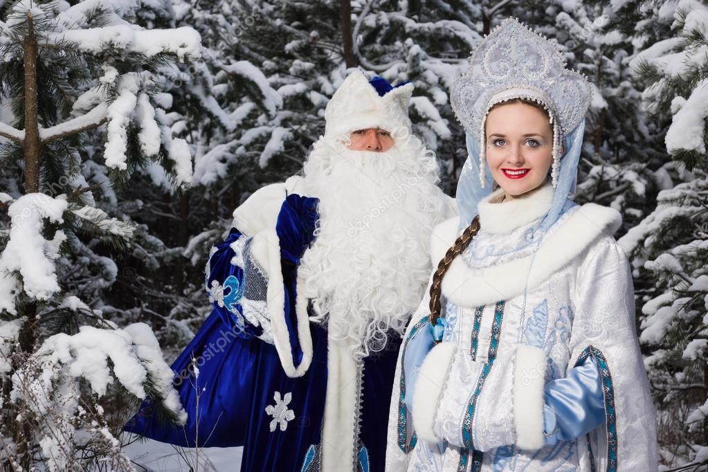 russische weihnachten zeichen ded moros v terchen frost und snegu stockfoto demian 95031692. Black Bedroom Furniture Sets. Home Design Ideas