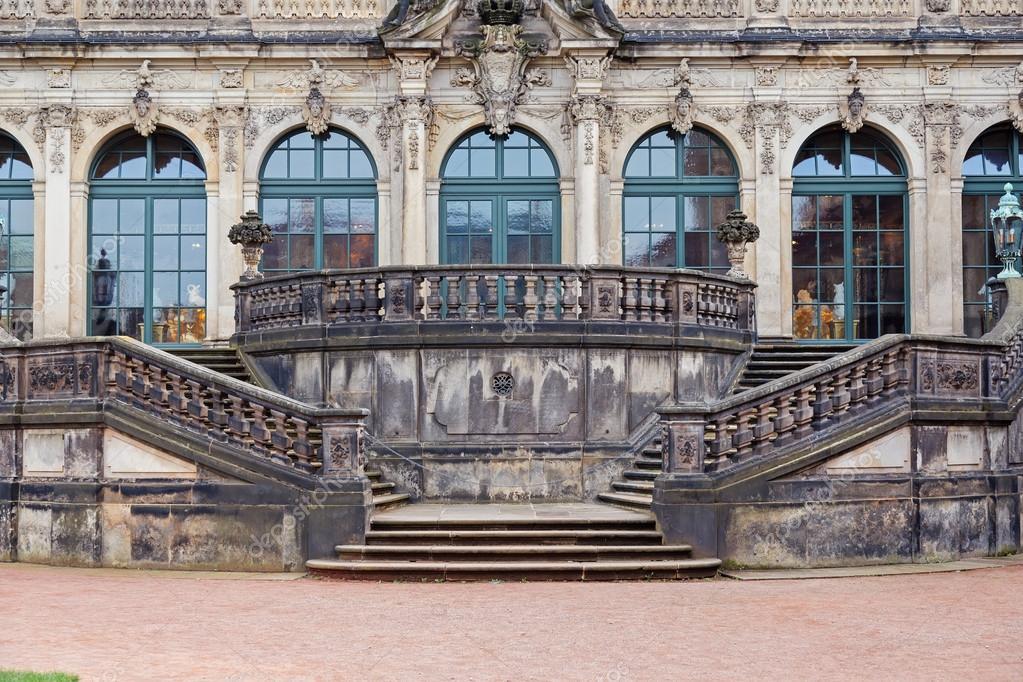 Treppen Dresden dresdner zwinger palast treppen und fassade redaktionelles