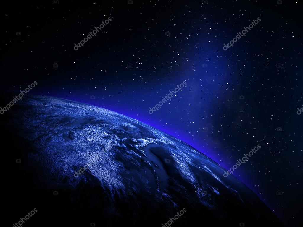 World Map From Space Stock Photo Xpert - World map from outer space