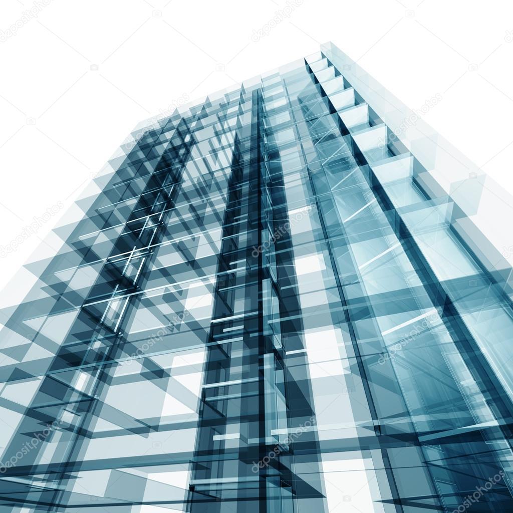 Amazing Modernes Gebäude. Architektur Design Und Mein Eigenes Modell U2014 Foto Von  1xpert