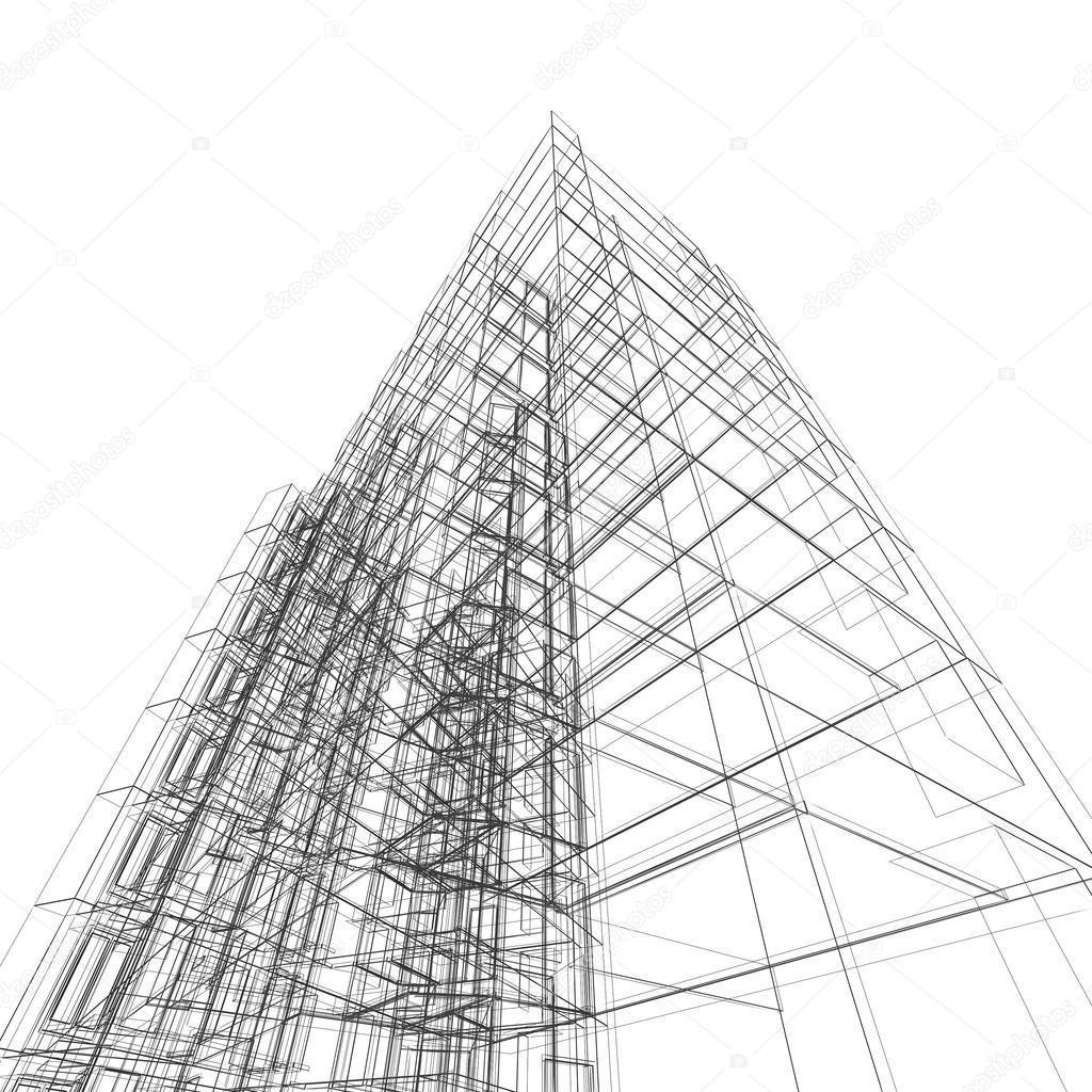 Marvelous Modernes Gebäude. Architektur Design Und Mein Eigenes Modell U2014 Foto Von  1xpert