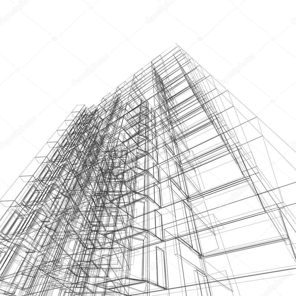 Nice Modernes Gebäude. Architektur Design Und Mein Eigenes Modell U2014 Foto Von  1xpert