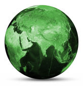Fotografie Země zelená mapa