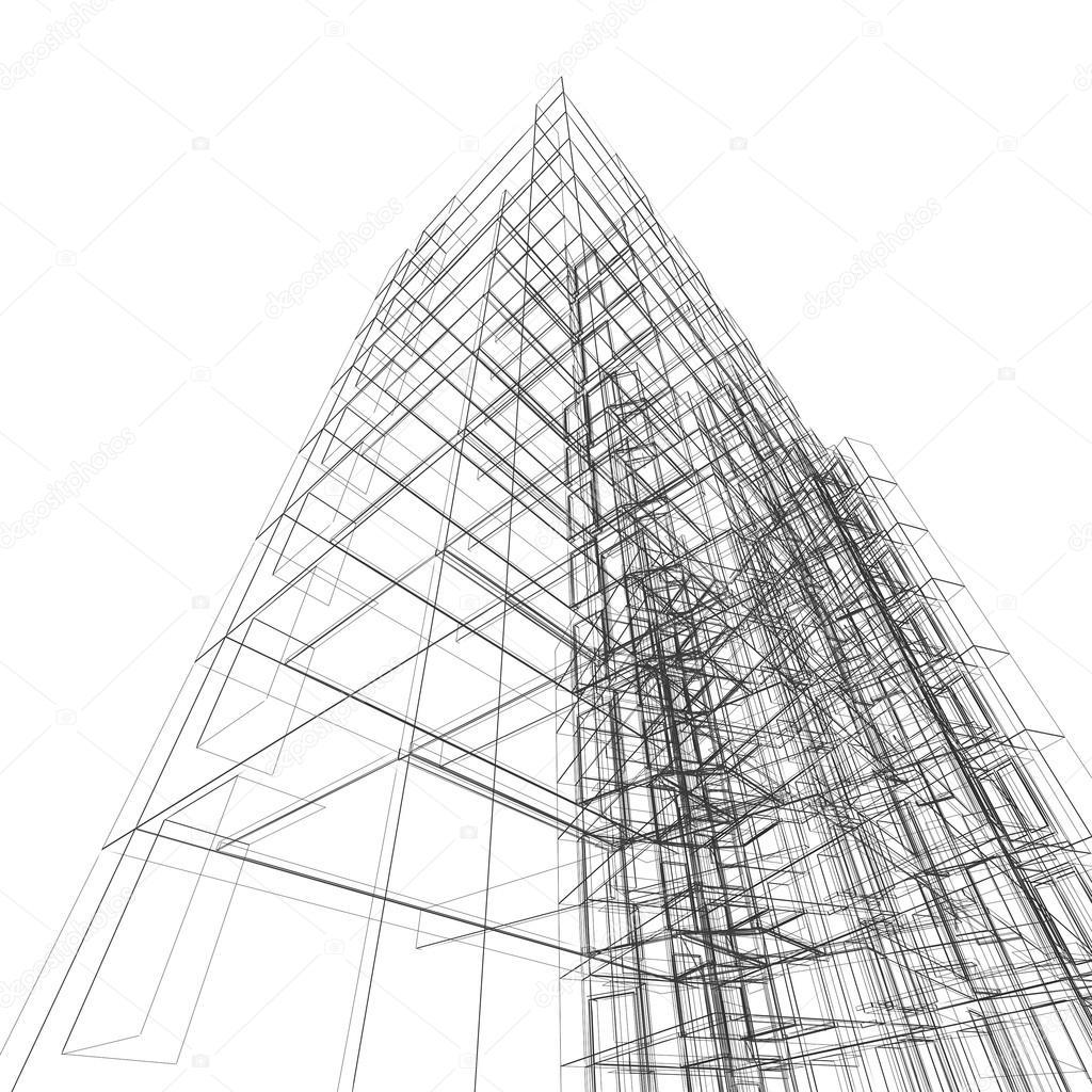 Superb Modernes Gebäude. Architektur Design Und Mein Eigenes Modell U2014 Foto Von  1xpert