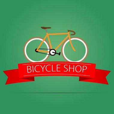 Bike shop icon